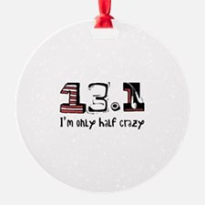 Half Crazy Ornament