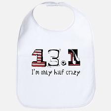 Half Crazy Bib
