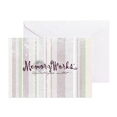 Consultant Striped Logo Greeting Cards (Pk of 20)