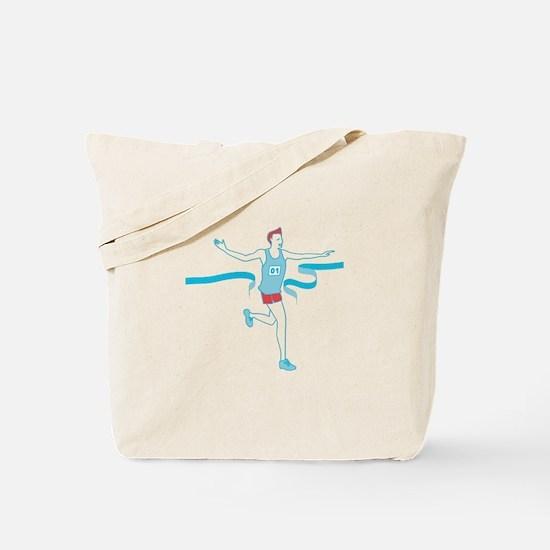 Finish Line Tote Bag