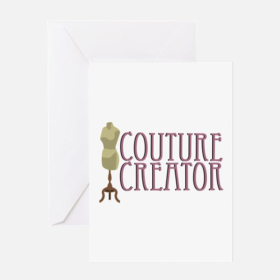 Mannequin Couture Creator Greeting Cards