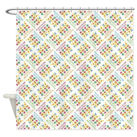 Plenty of fish shower curtain by takeachildfishing for Browse plenty of fish