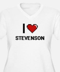 I Love Stevenson Plus Size T-Shirt