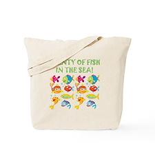PLENTY OF FISH Tote Bag