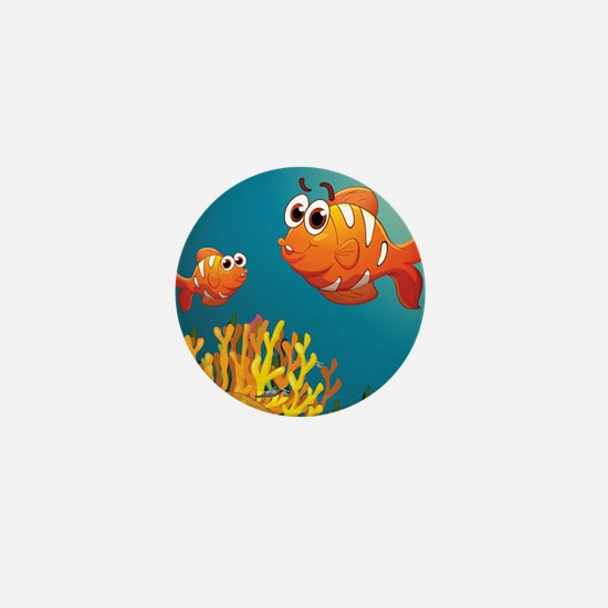 UNDER THE SEA Mini Button
