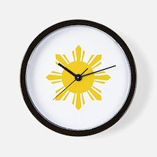 Funny Filipino Wall Clock