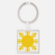 Unique Pinoy Square Keychain
