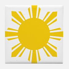 Cute Filipino Tile Coaster
