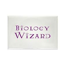 Biology Wizard Rectangle Magnet