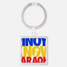 Cool Pinoy Square Keychain