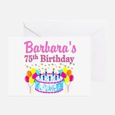 75TH CELEBRATION Greeting Card
