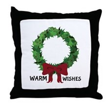 Warm Wishes Throw Pillow