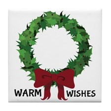 Warm Wishes Tile Coaster