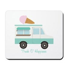 Truck O Happiness Mousepad
