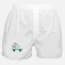 Ice Cream Truck Boxer Shorts
