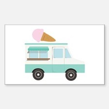 Ice Cream Truck Decal