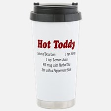 HOT TODDY Stainless Steel Travel Mug