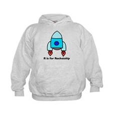 R is for Rocketship Hoodie