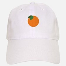 Round Orange Baseball Baseball Baseball Cap