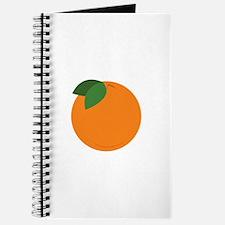 Round Orange Journal