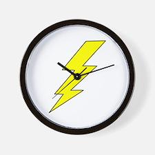LIGHTENING BOLT Wall Clock
