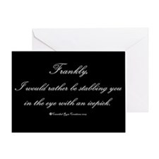 Icepick Greeting Card
