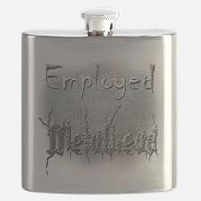 Employed Metalhead Flask