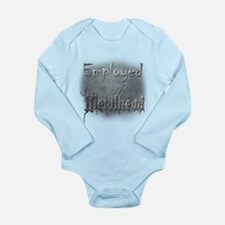 Employed Metalhead Long Sleeve Infant Bodysuit