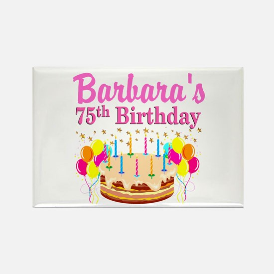 75TH CELEBRATION Rectangle Magnet
