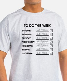 TO DO THIS WEEK T-Shirt