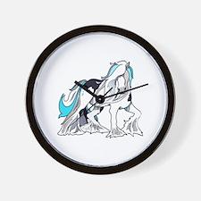 MYSTICAL HORSE Wall Clock
