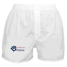 Poodles for Obama Boxer Shorts