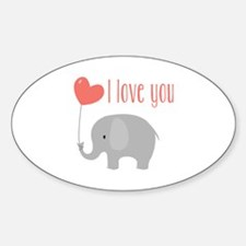 I Love You Decal