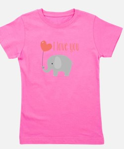 I Love You Girl's Tee