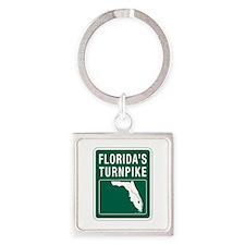 Florida Turnpike, Florida Square Keychain