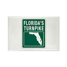 Florida Turnpike, Florida Rectangle Magnet