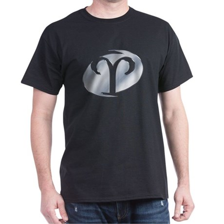 Chrome Aries Symbol Dark T-Shirt