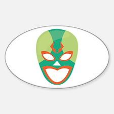 Wrestler Mask Decal