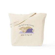 Yoga Art Tote Bag