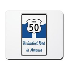 Highway 50, Loneliest in America, Nevada Mousepad