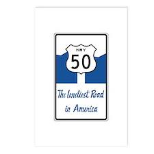 Highway 50, Loneliest in Postcards (Package of 8)