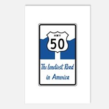 Highway 50, Loneliest in Postcards (Package of 8)