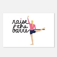 Raise The Barre Postcards (Package of 8)