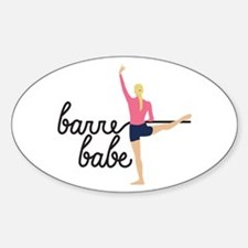 Barre Babe Decal