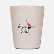 Barre Babe Shot Glass