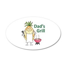 DADS GRILL Wall Decal