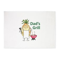 DADS GRILL 5'x7'Area Rug