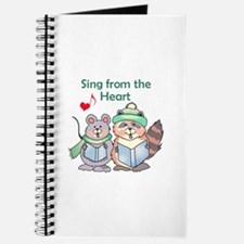 SING FROM THE HEART Journal