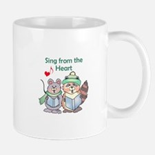 SING FROM THE HEART Mugs