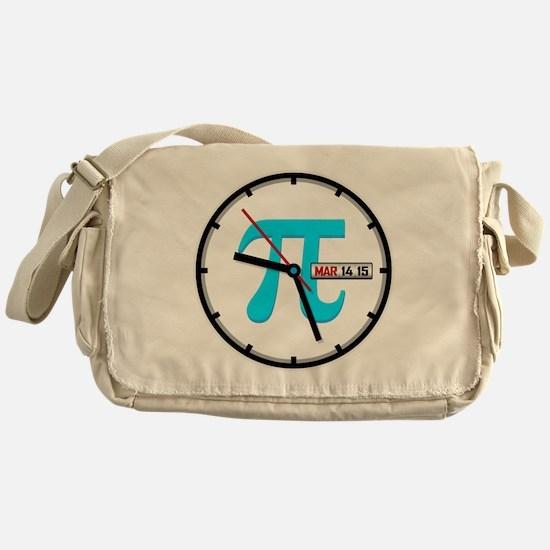Ultimate Pi Day 2015 Clock Messenger Bag